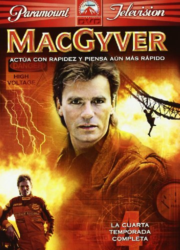 MacGyver (4ª temporada completa) [DVD]