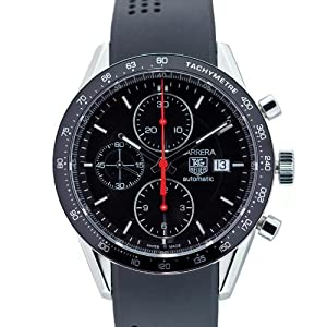 TAG Heuer Men's CV2014.FT6014 Carrera Automatic Chronograph Watch by TAG Heuer