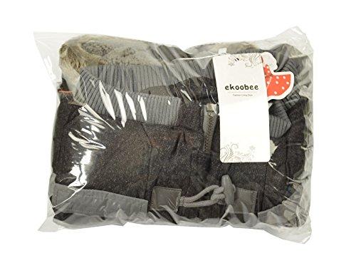 Ekoobee Infant Baby Boys Thick Winter Warn Hooded Coats Jackets (3T)