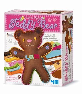 4M Easy-To-Make Teddy Bear