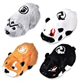 Kung Zhu Pet Battle Hamster Toy Set of 4 Ninja Warriors Azer, Drayko, Yama Thorn