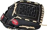 "Rawlings Sporting Goods Basket Web Softball Series Gloves, Black, 13"", Left Hand"