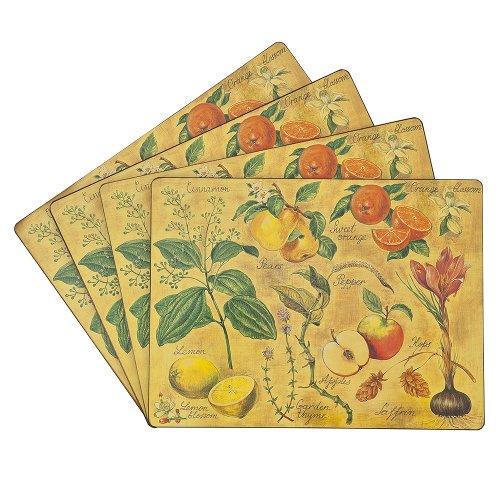 Benson Mills Cork Placemats Thyme Set Of 4 Ebay