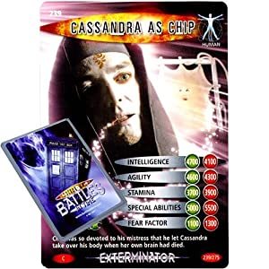 Doctor Who - Single Card : Exterminator 239 Cassandra as Chip Dr Who Battles in Time Common Card