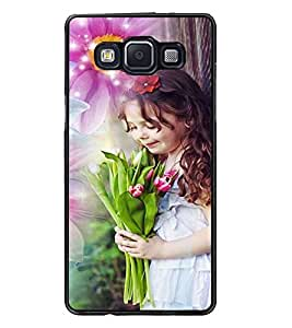 PrintDhaba Cute Baby D-5031 Back Case Cover for SAMSUNG GALAXY E5 (Multi-Coloured)