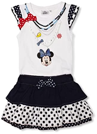 Minnie Mouse ME1044 Girl's Outfit Suit