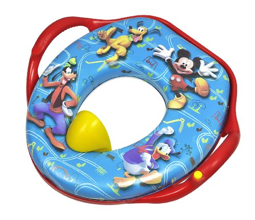 The First Years Magical Sounds Soft Potty Seat, Mickey Mouse