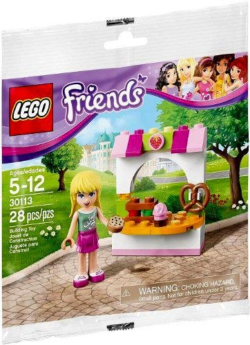 LEGO Friends Stephanie's Bakery Stand 30113 (28 Pieces)