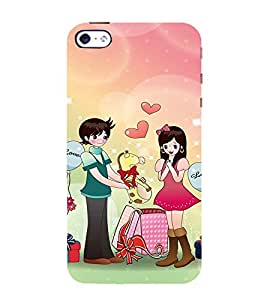 EPICCASE Cutest couple Mobile Back Case Cover For Apple iPhone 4/4s (Designer Case)