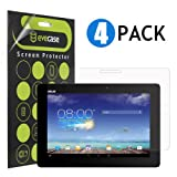 Evecase Clear & Anti-Glare Matte Screen Protector Mix Set for Asus Transformer Pad TF701T / TF701- 10.1'' Android Tablet - 4-Pack