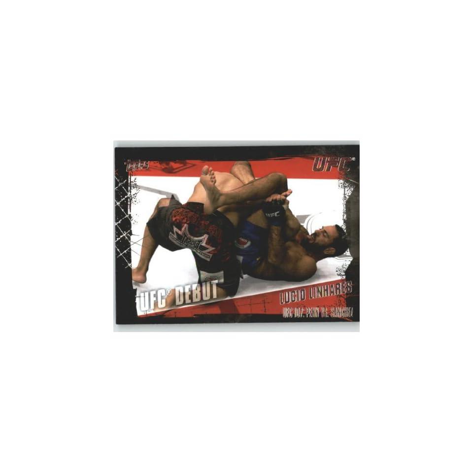 2010 Topps UFC Trading Card # 150 Lucio Linhares (Ultimate