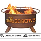 Patina Products F231, 30 Inch  Oregon State Fire Pit