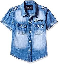 Cherokee Boys' Shirt (267982091_Light Blue_5 - 6 years)