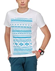 Yepme Men's Graphic Cotton T-shirt