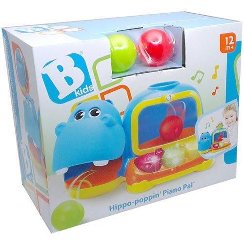 Blue Box Hippo Poppin Piano Pal