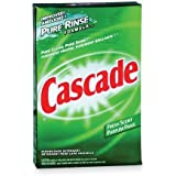 Cascade Powder Dishwasher Detergent, Fresh Scent, 2.38 Kilogram- Packaging May Vary