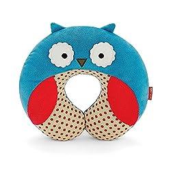 WonderKart U Shape Feeding & Nursing Baby Neck Pillow - Owl