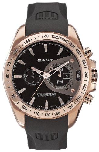 Gant W10385 - Orologio da polso da uomo, cinturino in plastica colore nero
