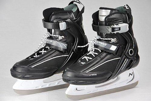 Jomax Eishockey Schlittschuh (EU 40||schwarz weiß)