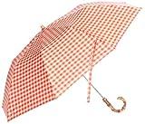 (デミルクスビームス) Demi-Luxe BEAMS Traditional Weatherwear / ギンガム オリタタミ傘 64660013118 45 ORANGE ONE SIZE