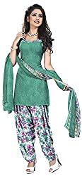 Offo*com Women's Synthetic Dress Material (1054)