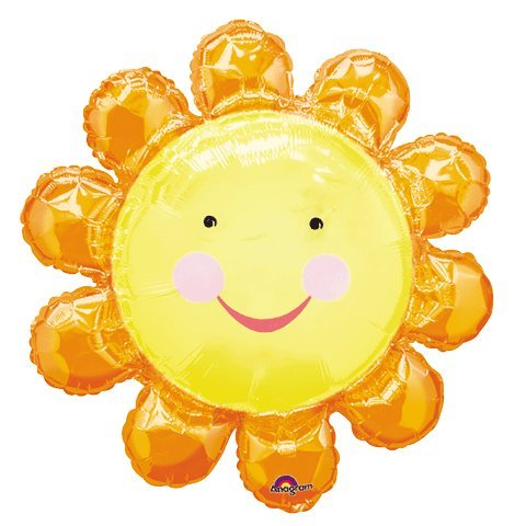 Chatterbox Orange Flower Super Shape Balloon