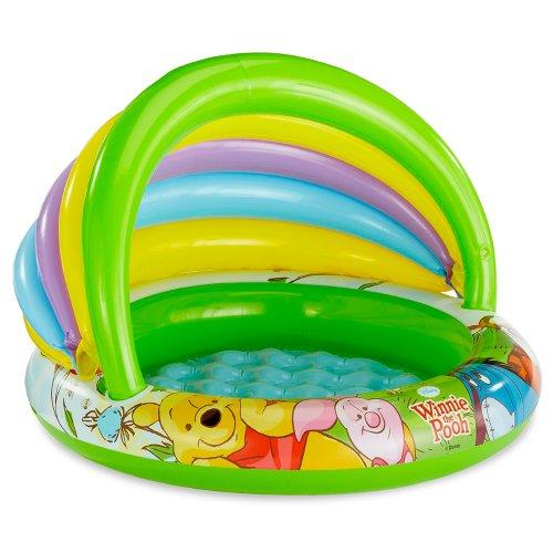 Color Baby - Winnie the Pooh piscina beb� hinchable, 102 x 69 cm (57424)
