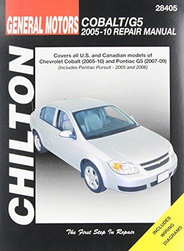 chiltons-general-motors-chevrolet-cobalt-pontiac-g5-2005-10-repair-manual-covers-all-us-and-canadian