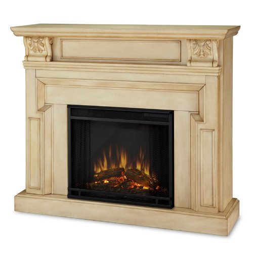 Real Flame 9500E-AW Antique White Kristine Kristine Collection 4780 BTU Indoor Electric Fireplace 9500E picture B004WJV112.jpg