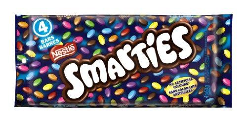 Smarties Chocolate, 4 x 50gm, Multipack