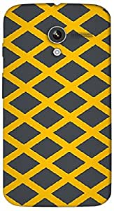 Timpax protective Armor Hard Bumper Back Case Cover. Multicolor printed on 3 Dimensional case with latest & finest graphic design art. Compatible with Motorola Moto -X-1 (1st Gen )Design No : TDZ-22986