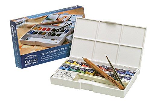 Review Winsor Amp Newton Cotman Watercolors Sketchers Box