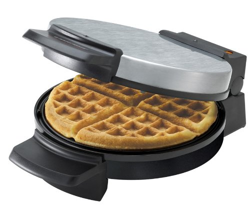 Black & Decker Chrome Belgian Waffle Maker WMB505 at Sears.com