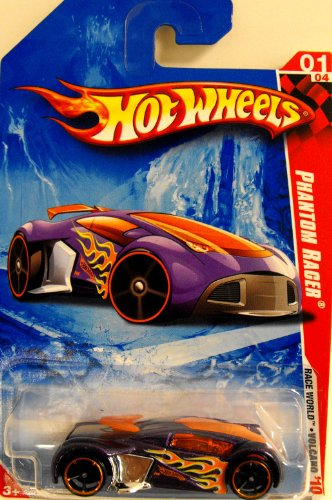 Hot Wheels Cars 2010 - Purple Phantom Racer - 1