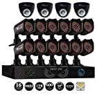 Night Owl 16 Channel Security System with 16 Cameras & 1TB Hard Drive