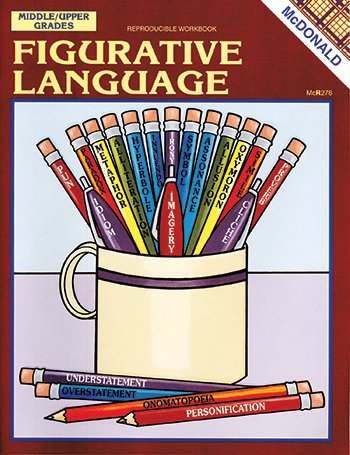 McDonald Publishing Figurative Language Reproducible Book - 1