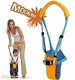【Moon Walk】 赤ちゃん 歩行 補助 ベビー アシスタント 歩き始めの 歩行器 補助器具 オムツカバー 付き (男の子)