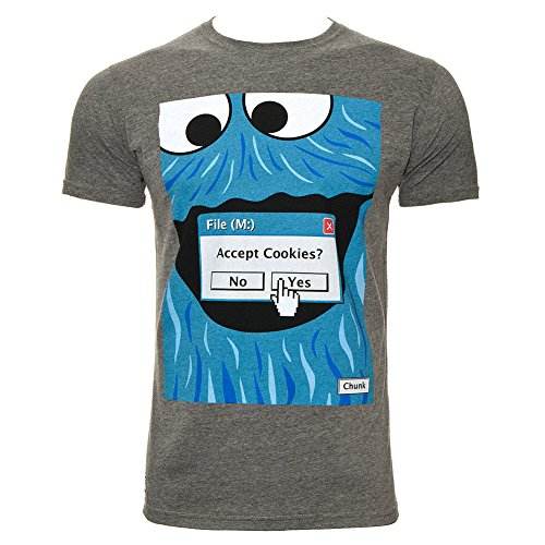 Chunk Clothing Mens Browser Cookies T Shirt