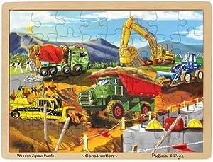 Melissa & Doug Construction Jigsaw Puzzle 48-Piece from Melissa & Doug