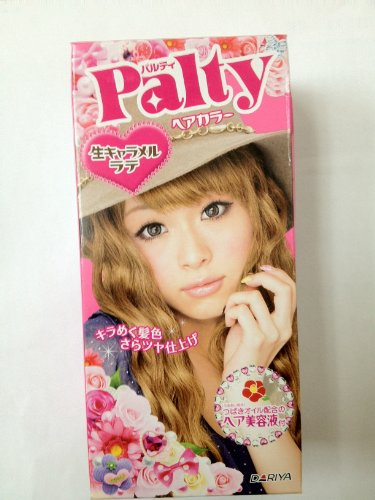Palty Hair Color Dye - Fleash Caramel Latte (2010