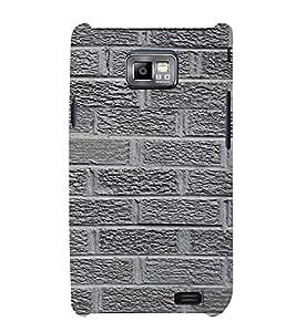 Classic Rock Pattern Cute Fashion 3D Hard Polycarbonate Designer Back Case Cover for Samsung Galaxy S2 i9100 :: Samsung I9100 Galaxy S II