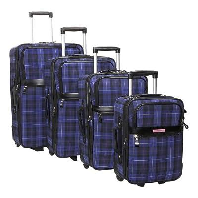 Amazon.com: Liz Claiborne Luggage Annika 4 Piece Luggage Set