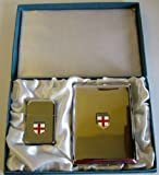 England - English St. George Petrol Storm Proof Lighter Cigarette Case