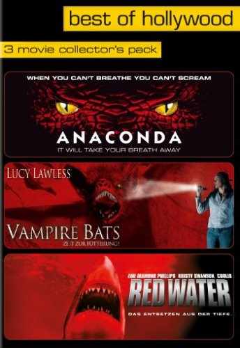 Anaconda/Vampire Bats/Red Water - Best of Hollywood/3 Movie Collector's Pack [Edizione: Germania]