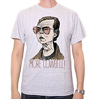 Amazon.com: Old Skool Hooligans More Cowbell T Shirt: Clothing