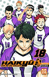 Haikyu!! Les AS du Volley Edition simple Tome 18