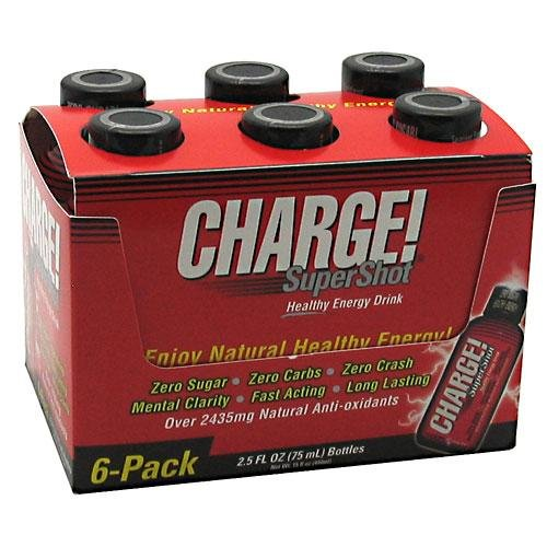 Labrada Charge Supershot, 2.5 fl oz 6- 2.5 fl oz (75 ml); 15 fl oz (444ml) (Super Charge Energy compare prices)