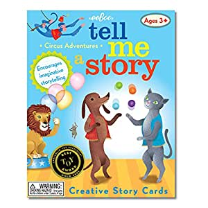 eeboo Tell Me A Story Circus Animals Adventure