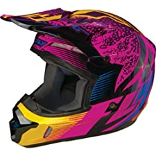 Fly Racing Kinetic Inversion Adult Motocross/Off-Road/Dirt Bike Motorcycle Helmet - Wild / Medium