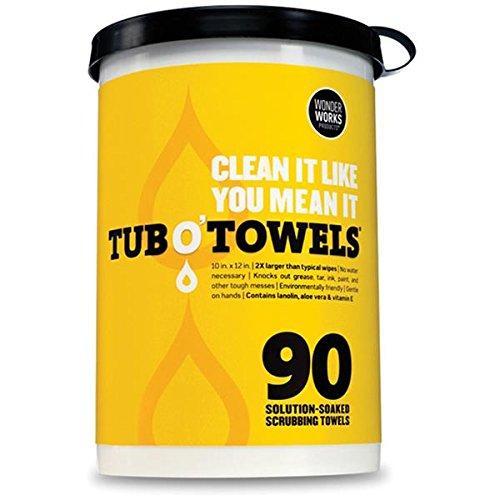 Wonder Works Tub O Towels Heavy Duty 10 X 12 Size Multi